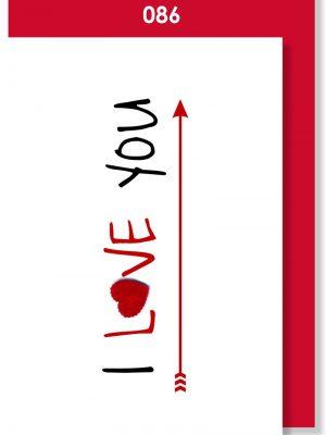 I LOVE YOU ARROW
