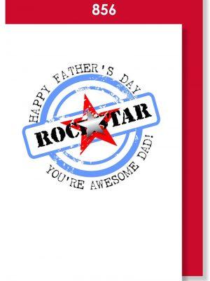 ROCK STAR DAD