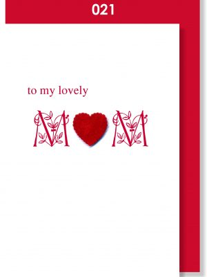 Handmade Card, Mother's Day, Mom