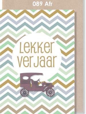 Handmade Cards, Birthday Card, Male Birthday Card, Afrikaans Card, Verjaarsdagkaartjie