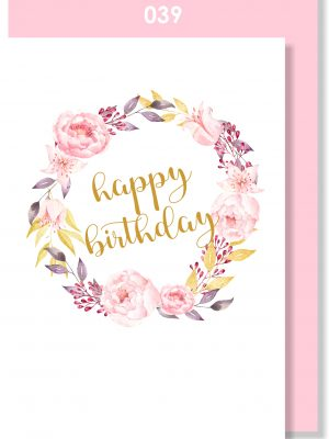 Handmade card, Birthday card, Rose