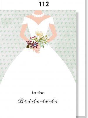 Handmade card, Bridal Shower