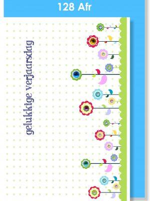 Handmade Cards, Birthday Cards, Afrikaans Cards, Verjaarsdagkaartjie