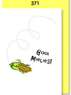 Handmade card, Afrikaans card, Gooi Mielies