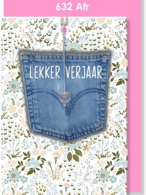 Handmade Card, Birthday Card, Afrikaans Card, Verjaarsdagkaartjie, Boeremeise