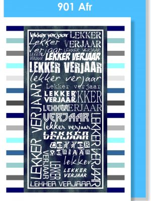 Handmade Card, Birthday Card, Afrikaans Card, Verjaarsdagkaartjie, Mans