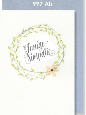 Handmade Card, Afrikaans Card, Simpatie, Meegevoel, Troos