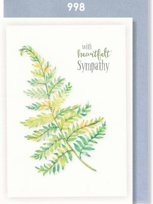 Handmade Card, Sympathy, Condolence