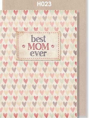 Handmade Card, Mother's Day, Best MOM ever