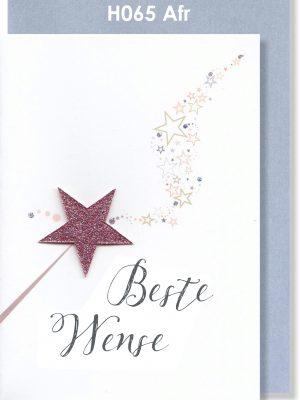 Handmade Card, Afrikaans Card, Troukaartjie, Beste Wense