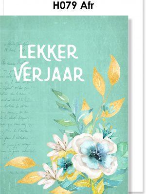 Handmade Card, Birthday Card, Afrikaans Card, Verjaarsdagkaartjie, Rose