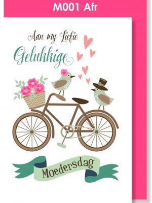 Handmade Card, Afrikaans Card, Moedersdag, Liefie