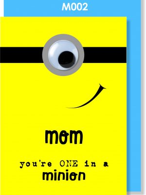 Handmade Card, Mother's Day, Minion