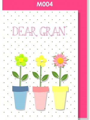 Handmade Card, Mother's Day, Gran, Granny