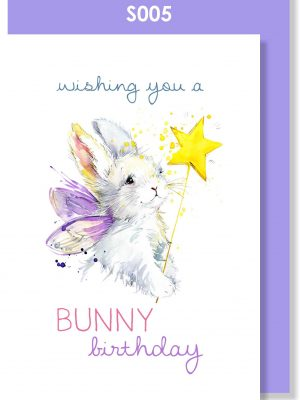 happy birthday, birthday card, bunny, cute