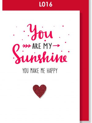 Handmade Card, Valentines Card, Love card