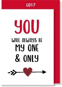 Handmade card, Valentine's card, LOVE card