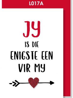 Handmade card, Afrikaans kaartjie, Valentine's Day, Love, Liefde