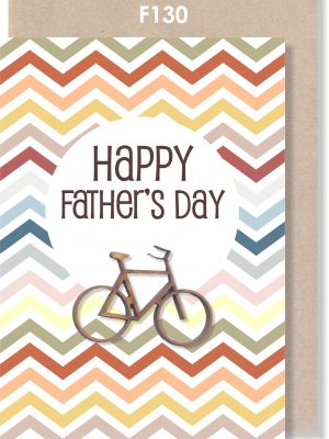 Father's Day, Handmade Card, Cycling, Bicycle