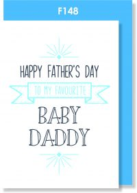 Father's Day, Handmade Card, Baby Daddy