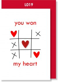 Handmade Greeting Card, Valentine's Card, Valentine's Day, Love, Hearts