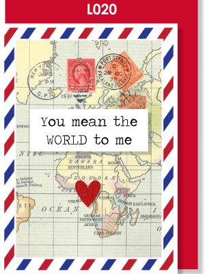 Handmade Greeting Card, Valentine's Card, Valentine's Day, Love