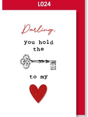Handmade Greeting Card, Valentine's Card, Valentine's Day, Love