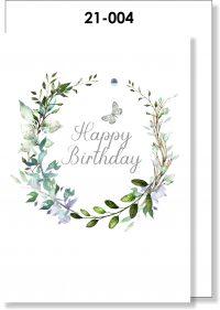 Handmade card, Birthday Card, Butterfly