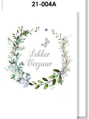 Handmade card, Afrikaans, Verjaarsdag Kaartjie, Skoenlapper