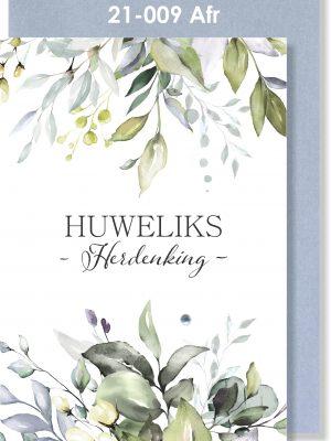 Handmade Card, Afrikaans, Huweliksherdenking kaartjie