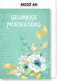 Handmade Card, Afrikaans Kaartjie, Moedersdag