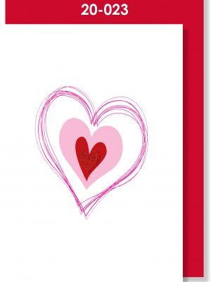 Handmade Card, Heart