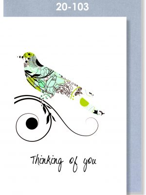 Handmade Card, Sympathy Card, Thinking of you