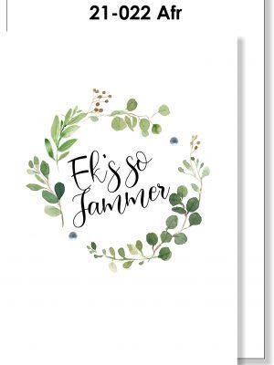 Handmade Card, Afrikaans, Ek's so jammer