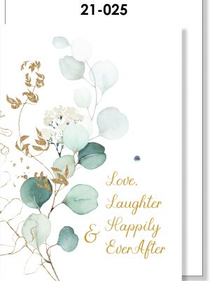 Handmade Card, Eucalyptus, Wedding