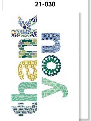 Handmade Card, Thank You, Moroccan